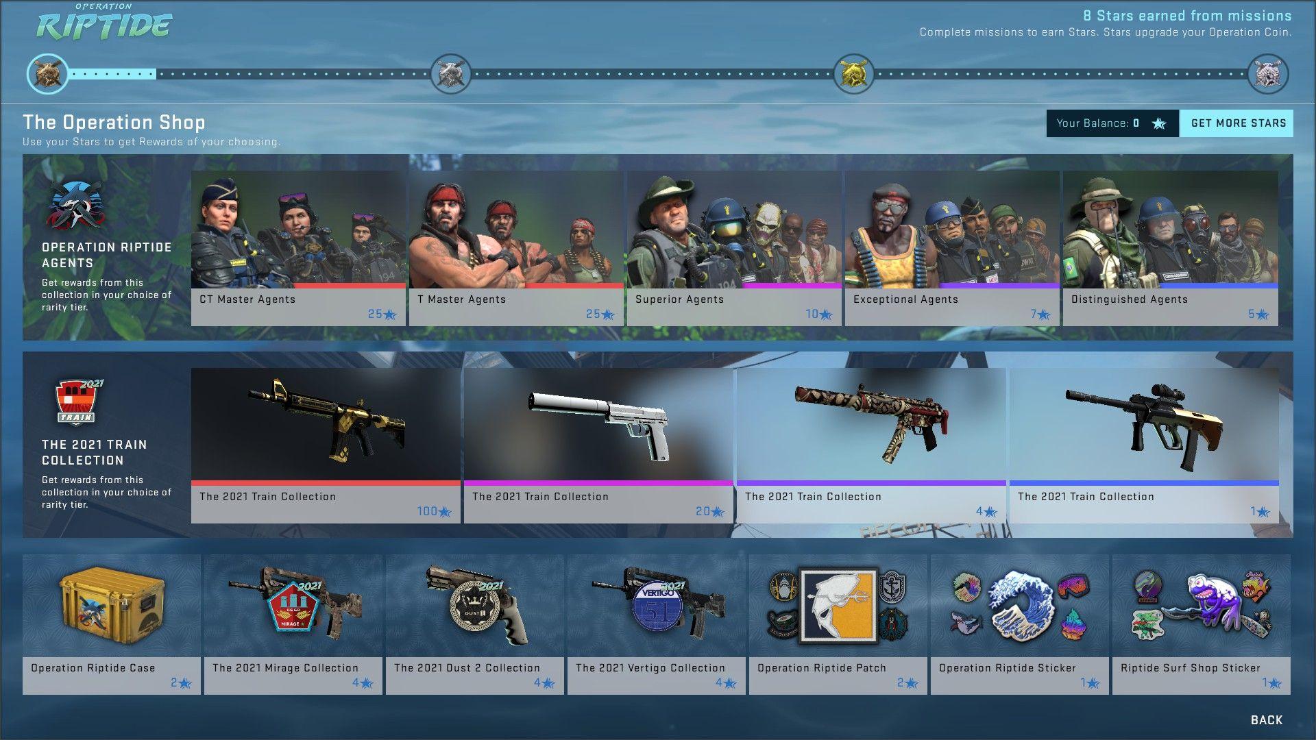 Operation Riptide Battle Pass CSGO
